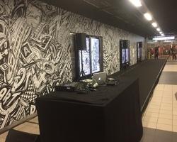 Sono X-Clusive - Inauguration fresque Station de métro