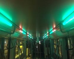 Sono X-Clusive - 2017 - Sonorisation & eclairage dans un métro pour le Dj Stereoclip Live